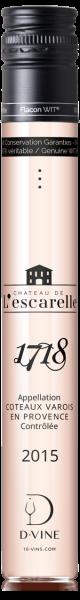 """Côteaux Varois en Provence """" Cuvée 1718"""" Château de l'Escarelle 2015"""