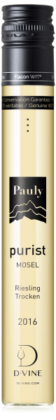 Allemagne Mosel Riesling Trocken Cuvée Purist Domaine Axel Pauly 2016
