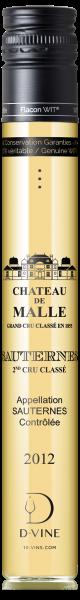 Sauternes Second Cru Classé Château de Malle 2012