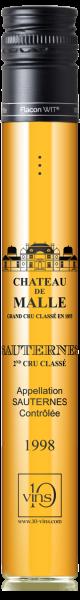 Sauternes Second Cru Classé Château de Malle 1998