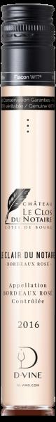 """Bordeaux rosé """"Le Clair du Notaire"""" Château le Clos du Notaire 2016"""