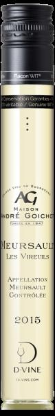 """Meursault, """"Les Vireuils"""" Domaine André Goichot 2015"""
