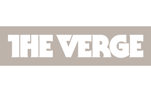 Grey The Verge logo