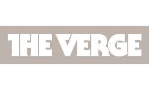 Grey The Verge logo