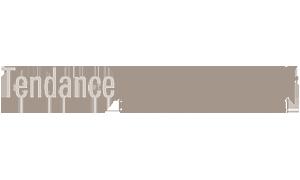 Logo Tendance restauration gris